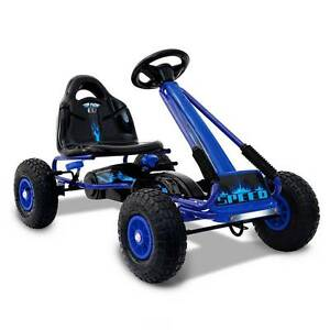 AUS FREE DEL-Kids Fun Outdoor Play Ride On Pedal Go Kart - Blue Sydney City Inner Sydney Preview