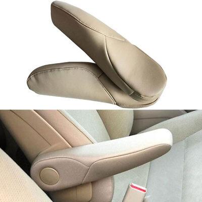 (2pcs/pair For Honda CRV CR-V 2010-17 Synthetic Leather Seat Armrest Cover Shell )