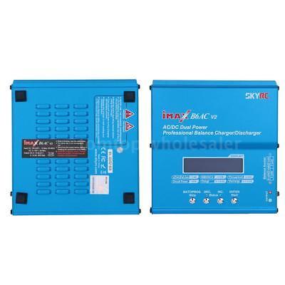 Genuine Skyrc Imax B6ac V2 Dual Power 6Amps 50Watts Lipo Battery Charger J5n5