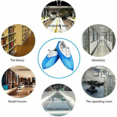 100 200 300 Pcs Disposable Shoe Covers Non-woven Protection