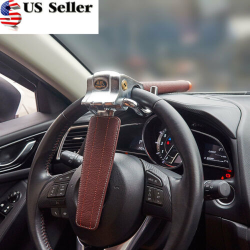 Car Anti Theft >> Details About Universal Auto Car Anti Theft Security Rotary Steering Wheel Lock Top Mount Suv