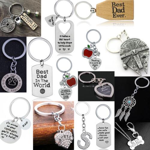 Gifts For Women Men Mom Dad Her Lover Presents Keychain Keyr