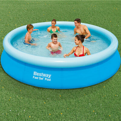 Bestway Fast Set™ Pool - 366x76 cm Inflatable Swimming Pool Paddling Round New