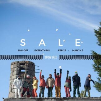 MANLY SNOWBOARD SALE! - Boards, Bindings, Boots, Outerwear & More