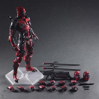 28cm HOT Play Arts Kai Marvel X-Men Deadpool 26cm Action Figuren Figur Spielzeug