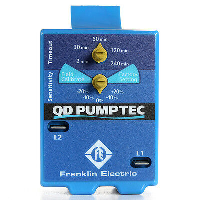 FRANKLIN ELECTRIC PUMPTEC QD FOR SUBMERSIBLE PUMPS - LOW YIELD WELLS 5800070600