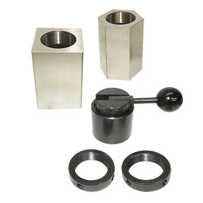 5c Hex Square Closer Rings Collet Block Chuck Milling Lathe Surface Grinder 5 Pc