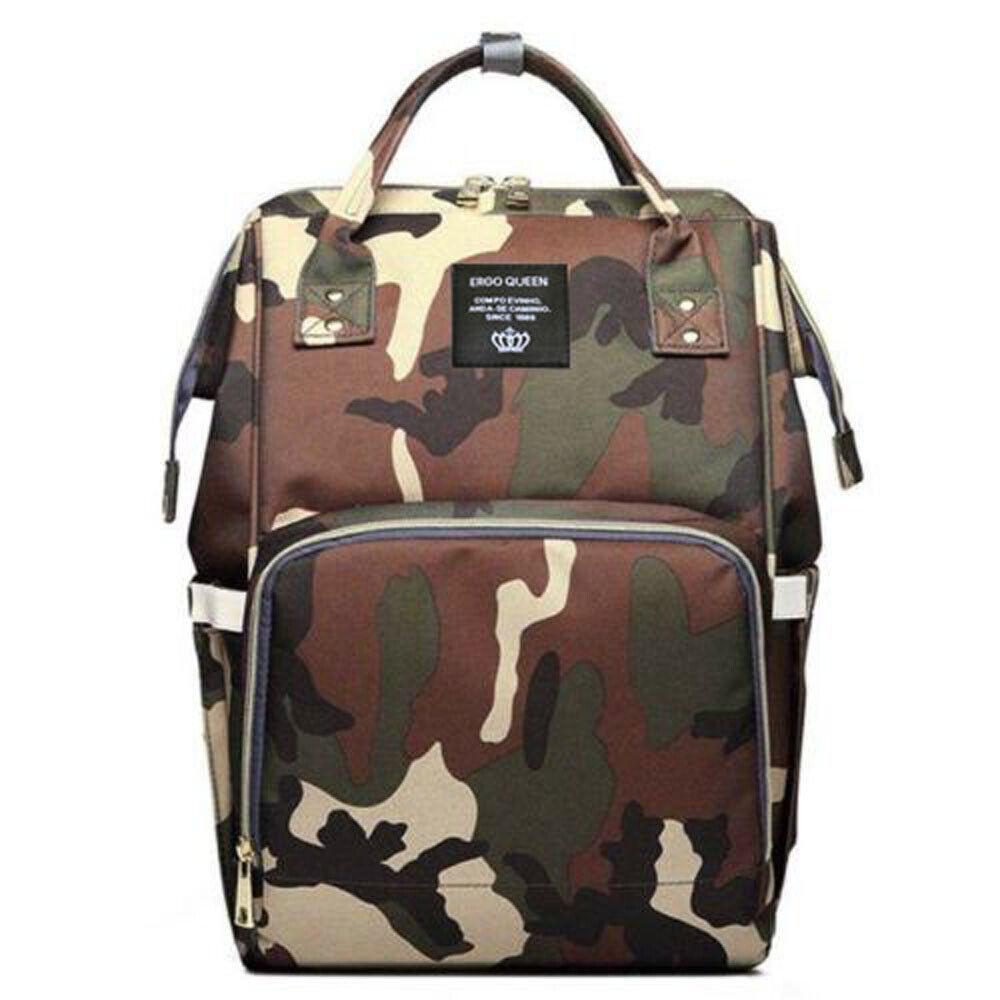 Ergo Diaper Bag Backpack Mummy Maternity Nappy Large Capacity Baby Bag Travel  Dark Camouflage