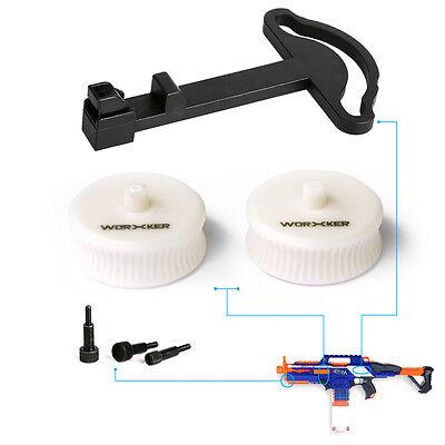 Worker MOD Combo Flywheel Dart Pusher Screw for Nerf RAPIDSTRIKE Modified Toy