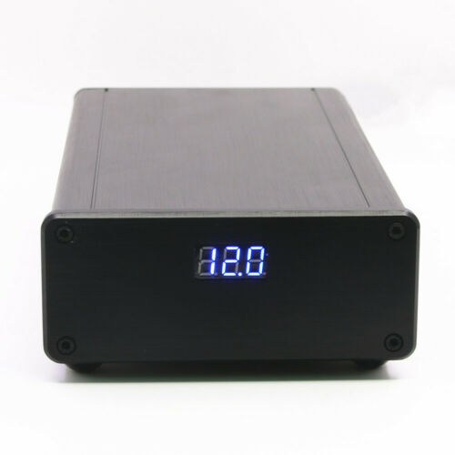 Finished 50W HIFI Ultra-low Noise Linear Power Supply DC12V @3A with display