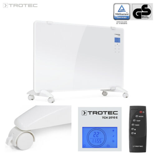 TROTEC Design-Glaskonvektor TCH 2010 E Heizer Elektroheizer Konvektor Heizung