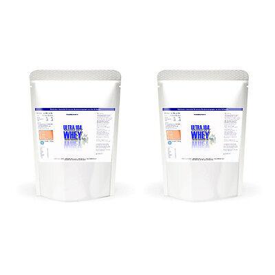 Ultra Whey Protein-pulver (2Kg Pharmasports Ultra 104 Whey - 2000g Qualitäts Whey Protein)