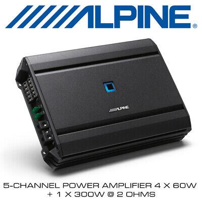 Alpine S-A55 - 5-Channel Power Amplifier 4 x 60W + 1 x...