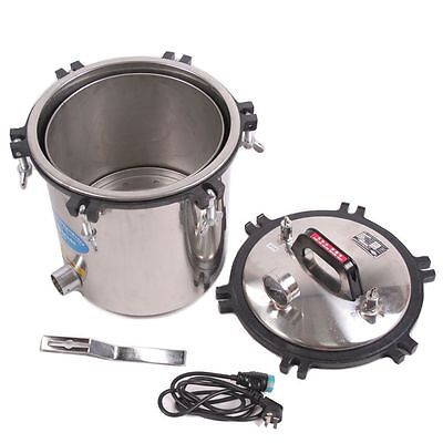 Portable 18l Medical High Pressure Steam Autoclave Sterilizer Stainless Steel Fs