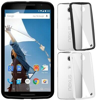AMZER SlimGrip Bumper Hybrid Case For Motorola Google Nexus 6 XT1100