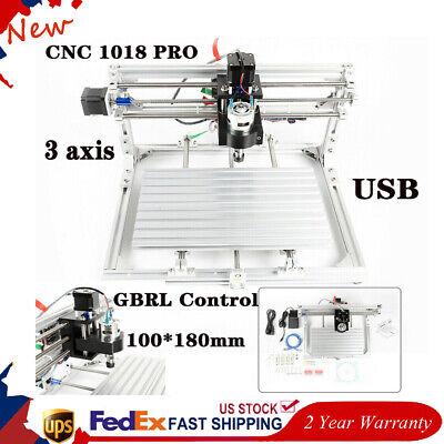 Cnc 3018 Router Engraving Machine Laser Pcb Milling Drill Engraver Mini Diy Kit