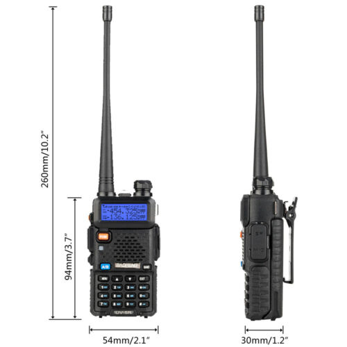 Walkie talkie for BaoFeng uv-5r antenna SMA-Female UHF//VHF 136-174//400-520 P5J1
