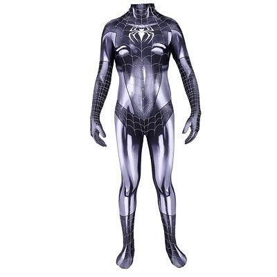 Spider Costume For Cat (Spider-man Symbiote Black Cat Cosplay Costume Bodysuit Zentai For Adult &)