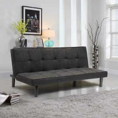 Schlafsofa Bettcouch Stoff Design 2-Sitzer Haus Büro Wohnzimmer GIADA