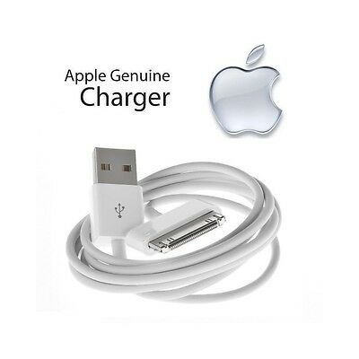 Original Apple iPad-2 30-Pin-to-USB Cable Data Charger-MA591G-C