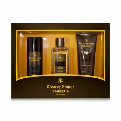 Alvarez Gomez Barberia 3-tlg. Geschenkset für Männer - Duft, Duschgel & Deo