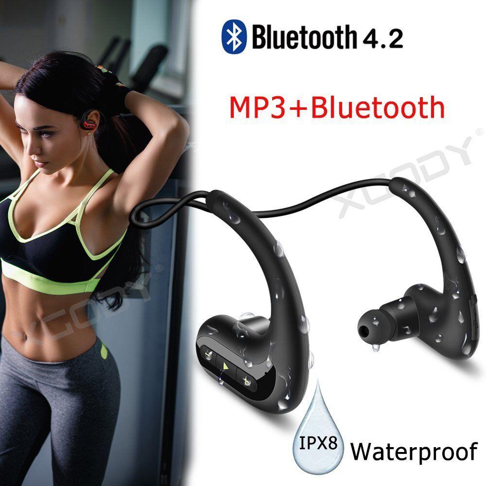 IP68 Waterproof Wireless Bluetooth Earphone In Ear Headsets