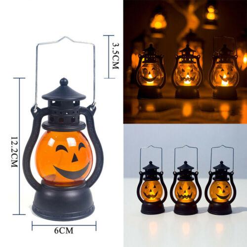 LED Paper Pumpkin  Animal Hanging Lantern Light Lamp Halloween Party Decor