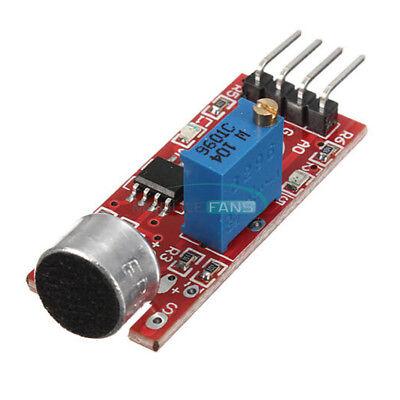 2pcs Microphone Sensor Pic Avr Sensitivity Sound Detection Module For Arduino