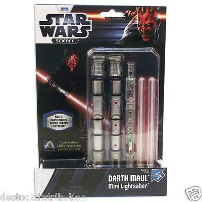 Star Wars Science kit mini sabre laser Darth Maul - Jouet-Uncle Milton