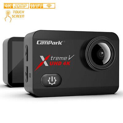 Campark X30 Action Cam 4K 20MP WiFi Sports kamera Touch Screen 40m Wasserdichte