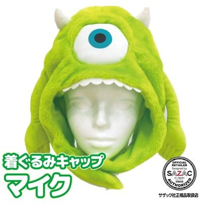 SAZAC Disney (Monsters, Inc. / Mike Wazowski) Cap Costume F/S Japan Brand (Disney Mike Wazowski Kostüm)