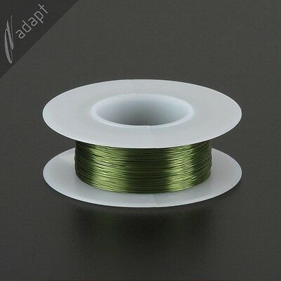 Magnet Wire Enameled Copper Green 30 Awg Gauge 155c 116 Lb 200ft Hpn
