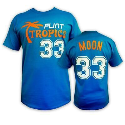 Semi-Pro Flint Tropics Jackie Moon T-Shirt! Will Farrell Basketball Movie Shirt