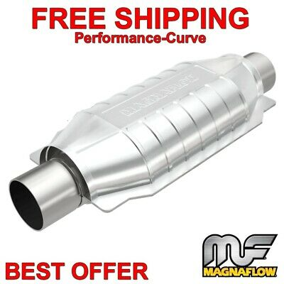 "MagnaFlow 2.5"" Heavy Loaded Catalytic Converter OBDII 99006HM"