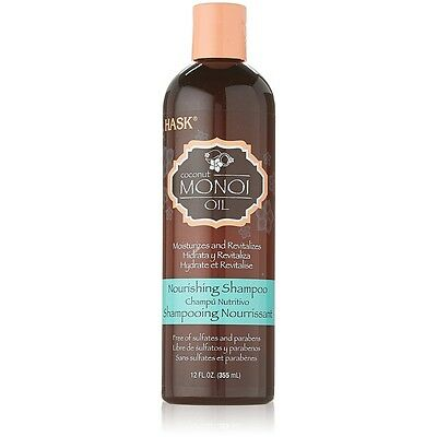 Hask Monoi Oil Nourishing Shampoo, 12 fl oz