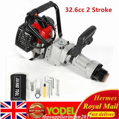 Petrol Fence Post Driver 32.6cc 2 Stroke Farm Fencing Tool UK