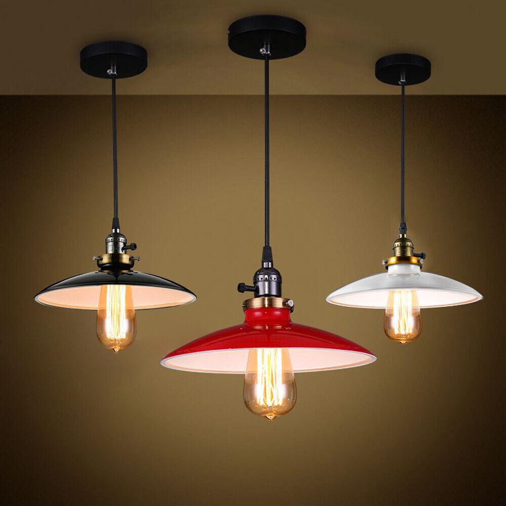 Vintage wendys restaurant hanging ceiling light