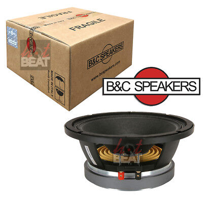 B C 10Md26 10  Midbass Midrange Speaker Woofer 8 Ohm  B And C   Made In Italy