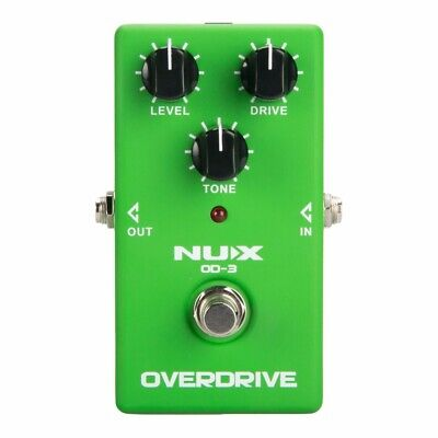 5NUX OD-3 Overdrive Electric Guitar Effect Pedal True Bypass Warm tube natural