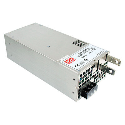 Mean Well Rsp-1500-24 Ac To Dc Power Supply Single Output 24 Volt 63 Amp 1.512kw