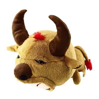 NEW Novelty Funny Cow Golf Headcovers Driver Fairway Woods Club Head Cover Brown