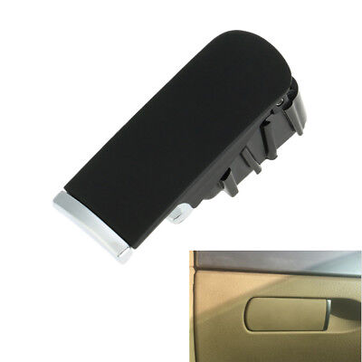 LHD Black Glove Box Lock Lid Handle 8E1857131 Fit For Audi A4 01-07 Durable ABS