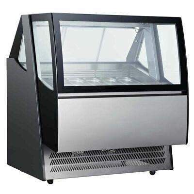 Marchia Idc48 48 Ice Cream Gelato Display Freezer Dipping Cabinet