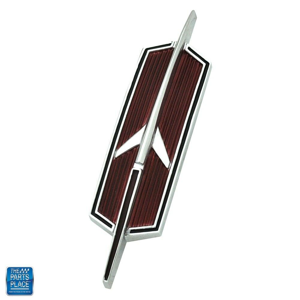 1968 Cutlass / 442 Trunk Emblem ( Rocket ) Convertible GM# 7730239
