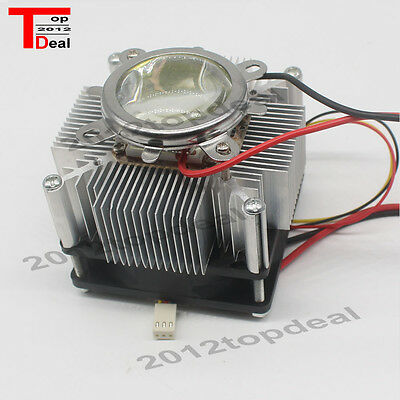 100w Led Aluminium Heat Sink Cooling Fan 90 44mm Lens Reflector Brack