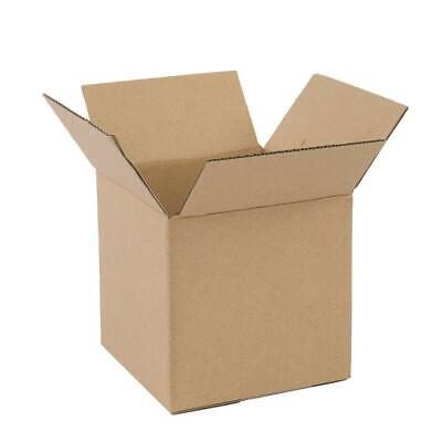 100 4x4x4 Cardboard Boxes Mailing Moving Packing Shipping Box