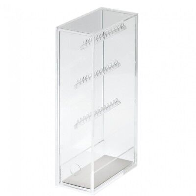 MUJI Acrylic Necklace Earring Organizer Stand Case Holder Display