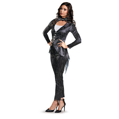 Womens Jack Skellington Halloween Costume