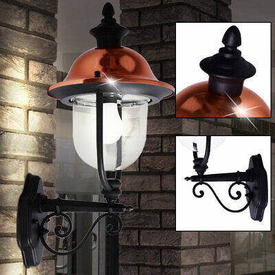 Country style house wall lighting balcony hanging lantern outdoor light copper