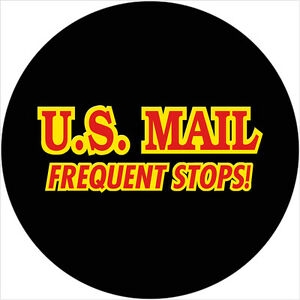 Us Mail 1 Custom Spare Tire Cover Wheel Cover